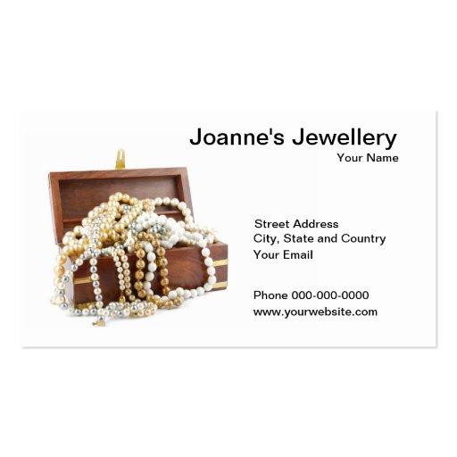 Jewellery Business Card