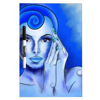 Jewellisina V1 - blue treasure Dry-Erase Board