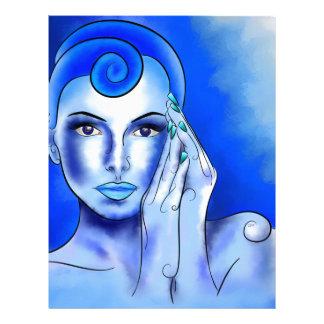 Jewellisina V1 - blue treasure Letterhead