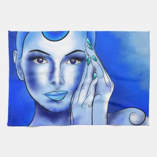 Jewellisina V1 - tesoro azul Toallas De Mano