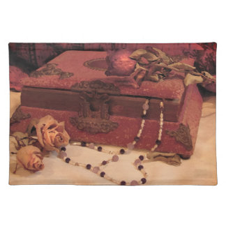 Jewelry and Roses Placemat
