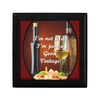 Jewelry Box for Baby Boomers Wine Lovers