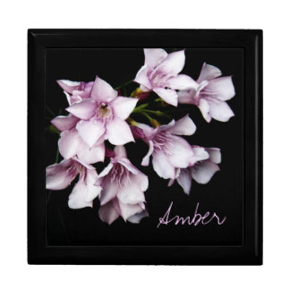 Jewelry Box - Pink Oleander