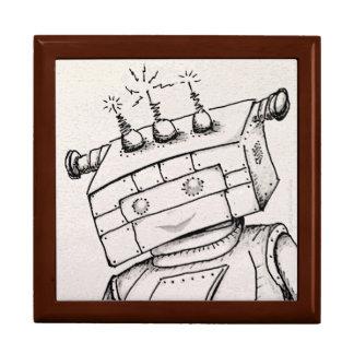 Jewelry Box Robot Original Art