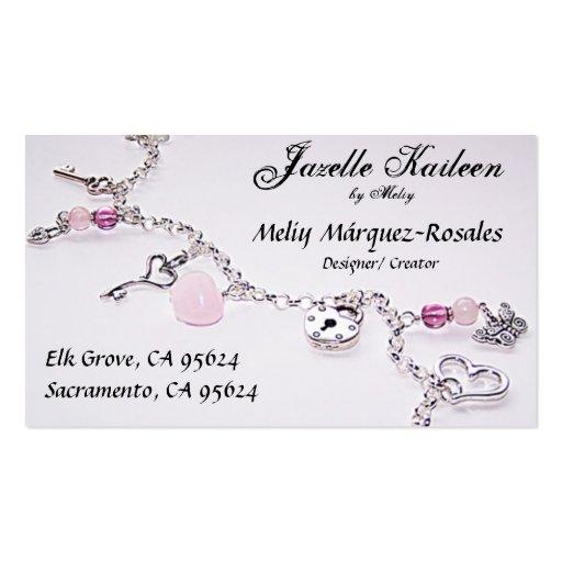 Jewelry Business Card Zazzle