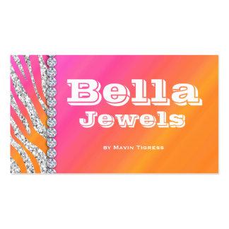 Jewelry Business Card Makeup Artist Cosmetology