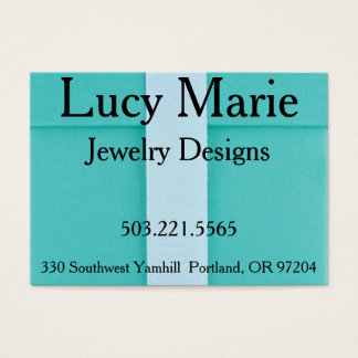 Jewelry Business Card Template