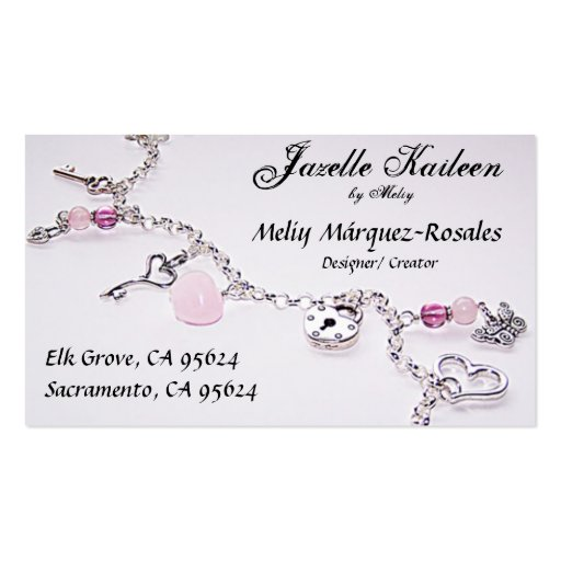 Jewelry business card templates jewelry business card templates front side wajeb Gallery