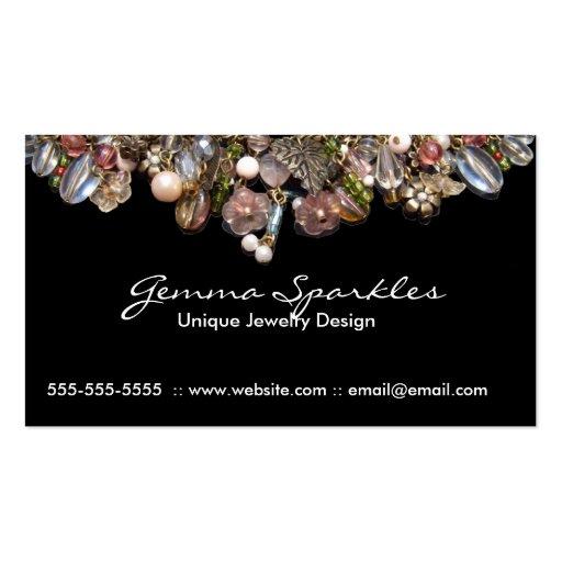 Jewelry business cards zazzle for Jewelry business card
