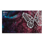 Jewelry butterfly business card