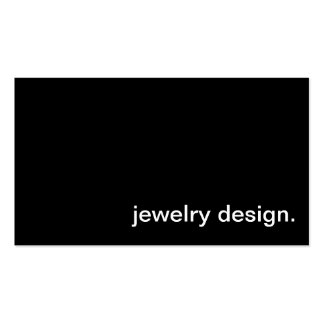 Jewelry Design Business Card
