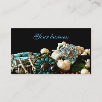 Jewelry designer business cards