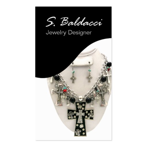 Jewelry Designer Custom Jeweler Business Card