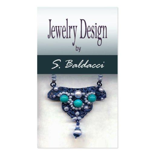 Jewelry Designer Custom Jeweler Business Cards