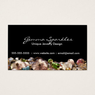 Jewelry double sided Business Cards