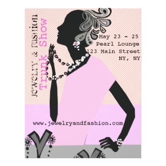 Jewelry Fashion Trunk Show Full Color Flyer
