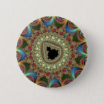 Jewelry Fractal Button