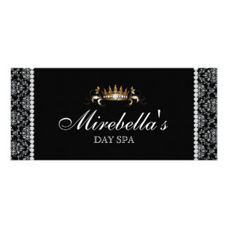 Jewelry Gift Certificate Damask Silver Crown