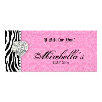 Jewelry Gift Certificate Zebra Pink Leopard