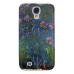 Jewelry lilies by Claude Monet Galaxy S4 Cases