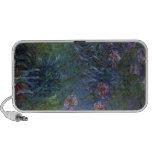 Jewelry lilies by Claude Monet iPod Speaker