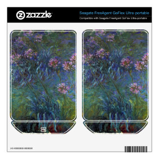 Jewelry lilies by Claude Monet Skin For FreeAgent GoFlex