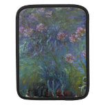 Jewelry lilies by Claude Monet Sleeves For iPads
