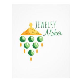 Jewelry Maker Letterhead