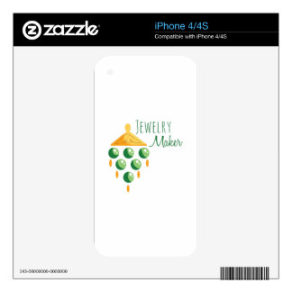 Jewelry Maker Decal For iPhone 4S