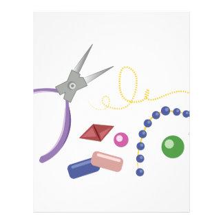 Jewelry Making Letterhead