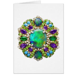 Jewelry Mandala Card