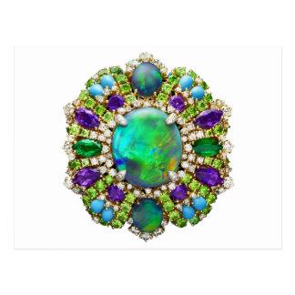 Jewelry Mandala Postcard
