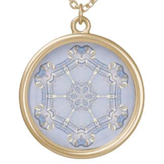 Jewelry - Necklace - Digital Snowflake 1