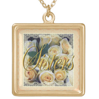 Jewelry - Necklace - Sisters - Creamy Rose Bouquet
