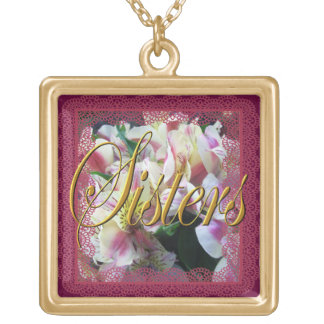 Jewelry - Necklace - Sisters - Peruvian Lilies