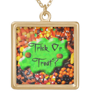 Jewelry - Necklace - Slimy Trick or Treat on Candy