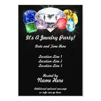 Jewelry Party Custom Invites