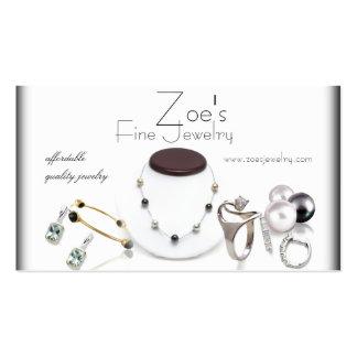 jewelry retail business card