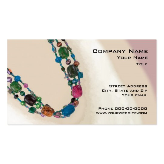 Jewelry Sales Business Card