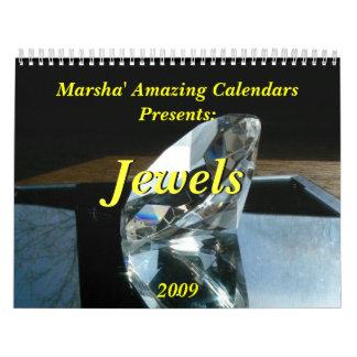 Jewels 2009 calendar