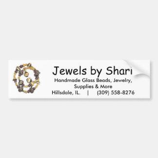 Jewels by Shari Car Bumper Sticker