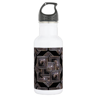 Jewels Collage Pattern Water Bottle