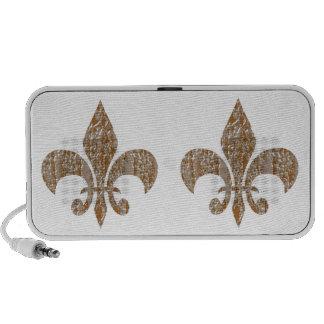 Jewels : Gold n Silver Engraved Art Notebook Speakers