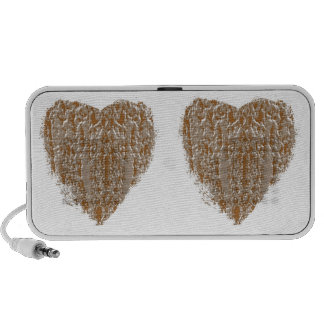 Jewels : Gold n Silver Engraved Art Portable Speakers
