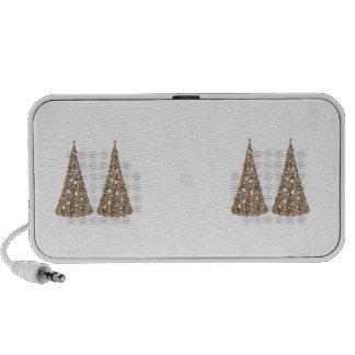 Jewels : Gold n Silver Engraved Art Speaker