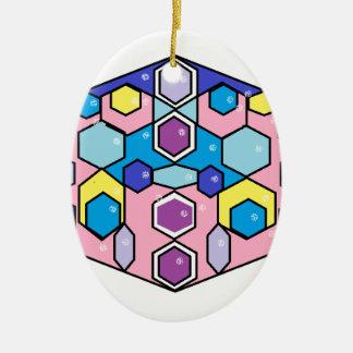 Jewels in the Box Ceramic Ornament
