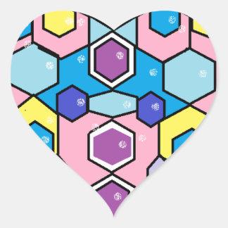 Jewels in the Box Heart Sticker