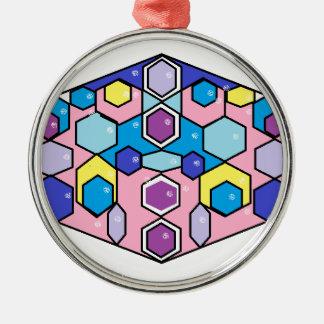 Jewels in the Box Metal Ornament