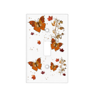 Jewels of Autumn Light Switch Cover