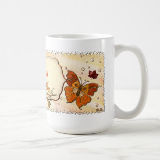 Jewels of Autumn Classic White Coffee Mug